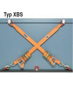 Verzurrung mit 75 mm Zurrgurt Typ XBS