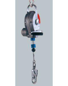 Höhensicherungsgerät Typ HRA mit  Rettungshub- und Senkvorrichtung nach  EN 360 und EN 1496