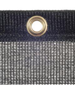 Luftdurchlässige Plane aus PE-Gewebe, 240 g/m² Farbe: schwarz