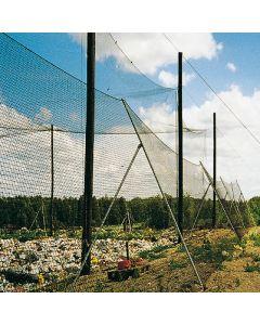 Papierfangnetz aus P.-P.- (Deponienetze)  Größe 4x50 m
