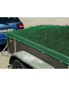 Abdecknetz aus Polypropylen, Material ca. Ø 2,3 mm, Maschenw. 20 mm Farbe: grün