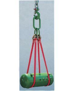Polyester-Bandgehänge Typ BAS-4 4-strängig