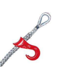DFW-Seil mit eingespleißter Kausche und Seilgleithaken