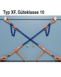 Kettenzurrung mit Verk.-haken erhöhte Zurrkraft LC Gk 10 Typ XF