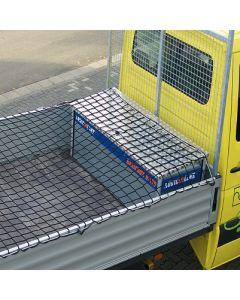 Abdecknetz für Pritschen inkl. 6 mm starken Gummi-Spannleine
