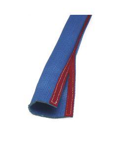 Kettenschutzschlauch für Absetzkipperketten, jedoch mit  Klettverschluss