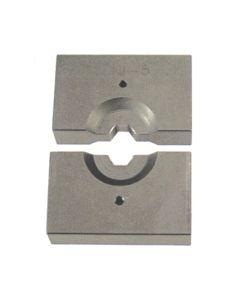 Pressbacken für hydraulische Preßzange Typ MHF-12 zum Verpressen von Drahtseil-Fittingen