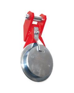 Umlenkrollen Typ SRL-SA aus Stahl, Aushängen automatisch