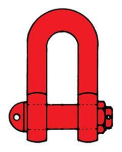 Schäkel Gk 8, hochfest  Ausführung DIN 82101, Form C