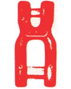Sonder-Gabelschäkel  als Verbindung Aufhängung-Kette Gk 8