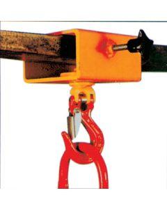 Staplerhaken - Staplertraverse Typ GSE mit dreh- und schwenkbarem Kompakthaken
