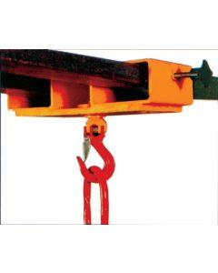 Staplerhaken - Staplertraverse Typ GSD mit dreh- und schwenkbarem Kompakthaken