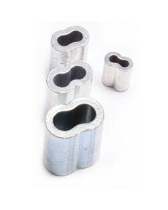 Nicopress-Hülsen aus Kupfer, außen verzinnt