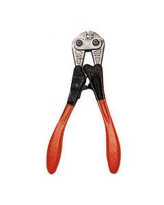Preßzange Typ ZS-B für Seil Ø 1,5 bis Ø 2,5 mm für Nico- Preßhülsen