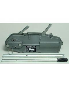 Seilzug mit Hebelrohr Typ HSZ 0,8 t mit großer Grundausrüstung